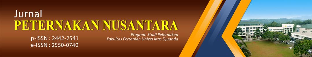 JURNAL PETERNAKAN NUSANTARA